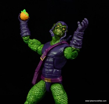 Marvel Legends Green Goblin figure review -cackling