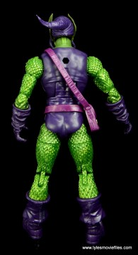 Marvel Legends Green Goblin figure review -rear