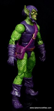 Marvel Legends Green Goblin figure review - right side