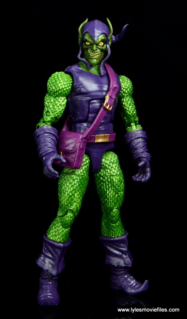 Marvel Legends Green Goblin figure review -straight ahead