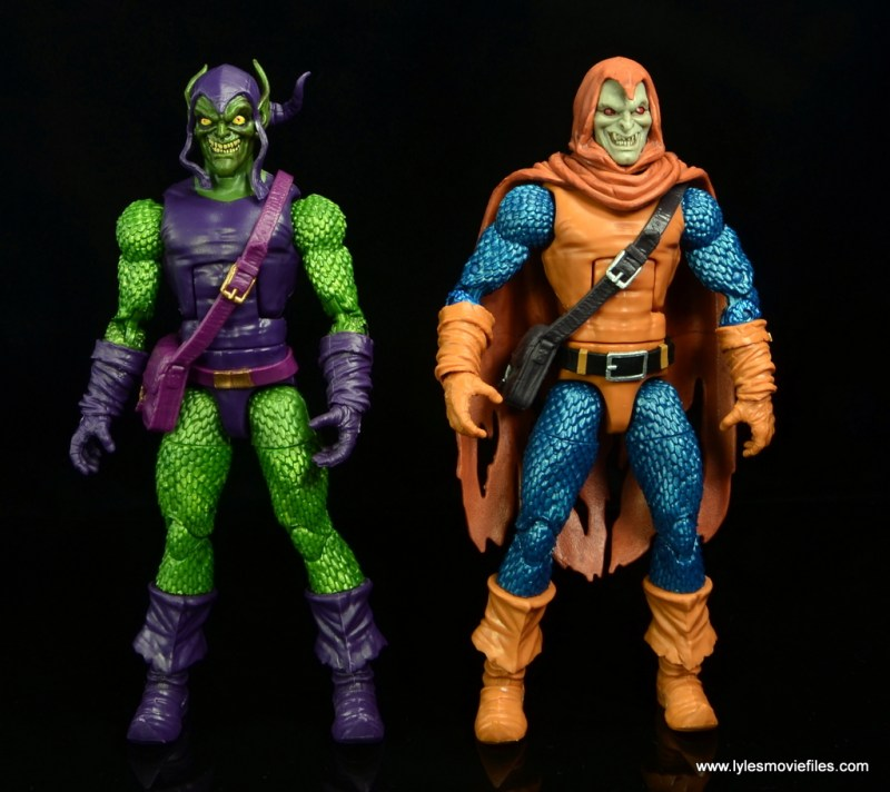 Marvel Legends Green Goblin figure review -with Hobgoblin