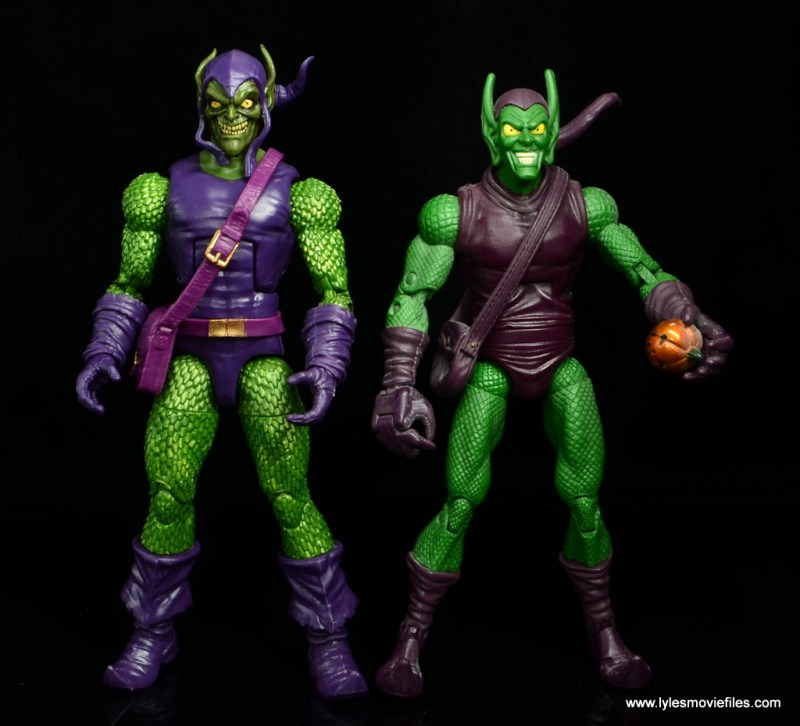 Marvel Legends Green Goblin figure review -with Toy Biz Green Goblin