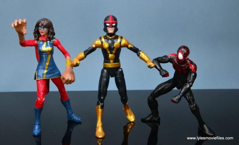 Marvel Legends Kid Nova figure review -Champions united