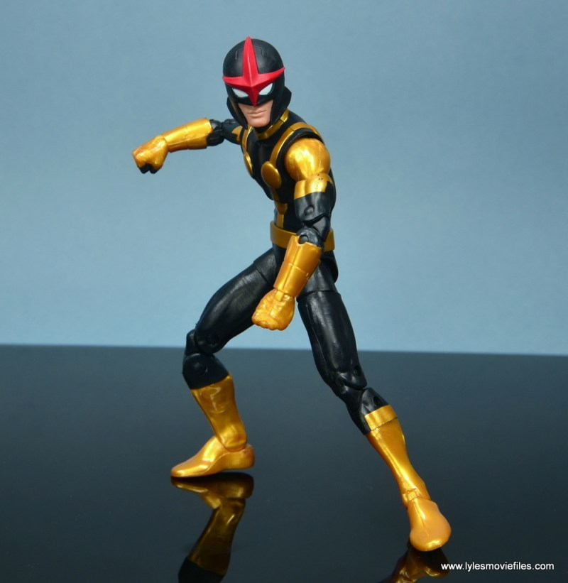 Marvel Legends Kid Nova figure review -battle ready