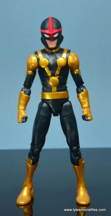 Marvel Legends Kid Nova figure review - straight