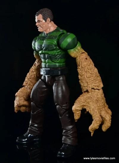 Marvel Legends Sandman figure review - left side