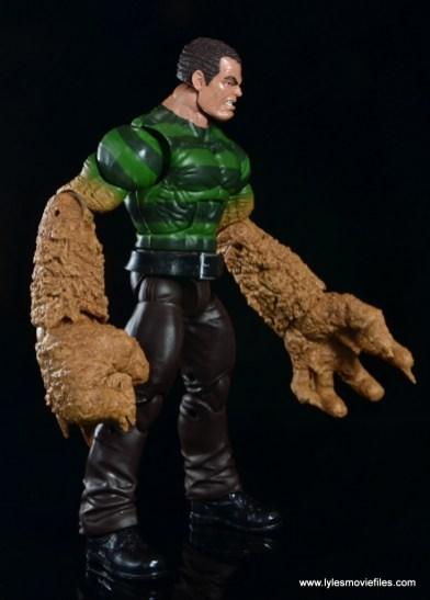 Marvel Legends Sandman figure review - right side