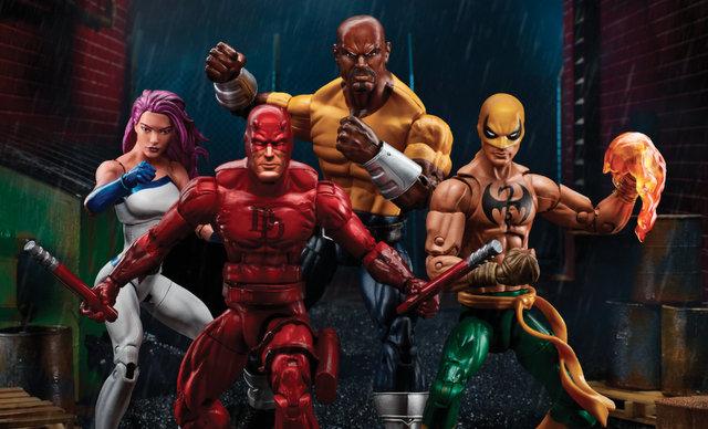 Marvel Legends Series 6-inch Defenders - exclusive