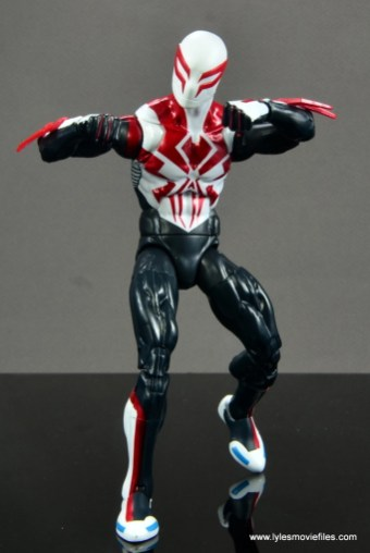 Marvel Legends Spider-Man 2099 figure review - ready for battle
