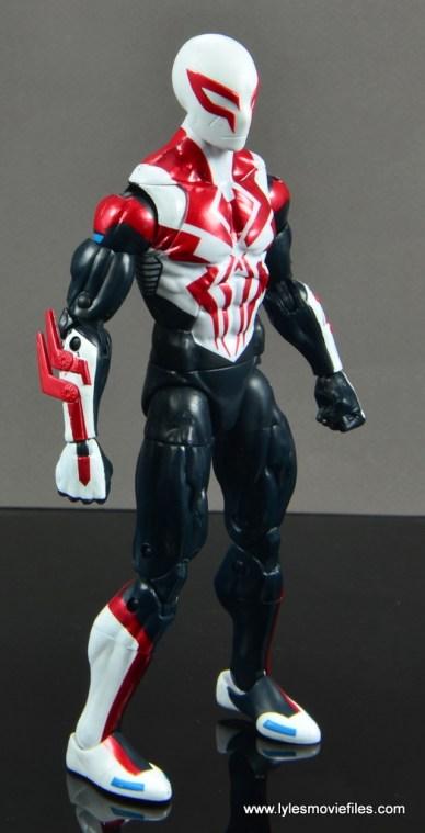 Marvel Legends Spider-Man 2099 figure review - right side