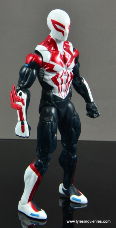 Marvel Legends Spider-Man 2099 figure review - right side