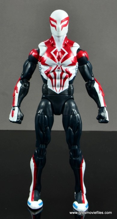 Marvel Legends Spider-Man 2099 figure review - straight
