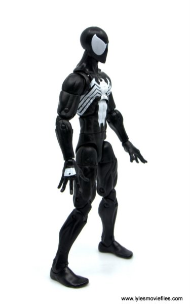 Marvel Legends Symbiote Spider-Man figure review - right side