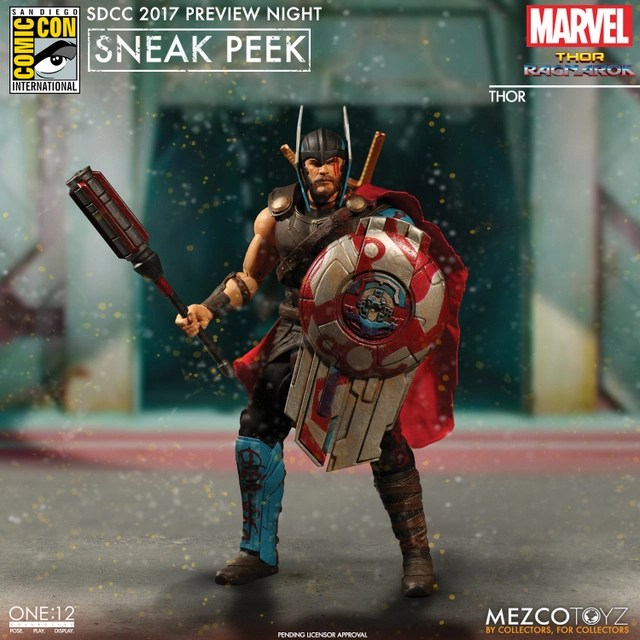 Mezco Toyz SDCC 2017 Preview Night One 12 Thor Ragnarok