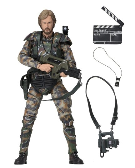 NECA Aliens James Cameron figure - main