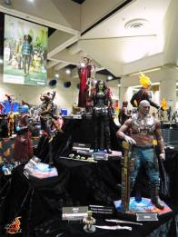 SDCC 2017 new Hot Toys Guardians of the Galaxy Vol. 2