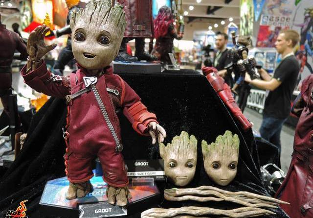 SDCC 2017 new Hot Toys Ravager Groot