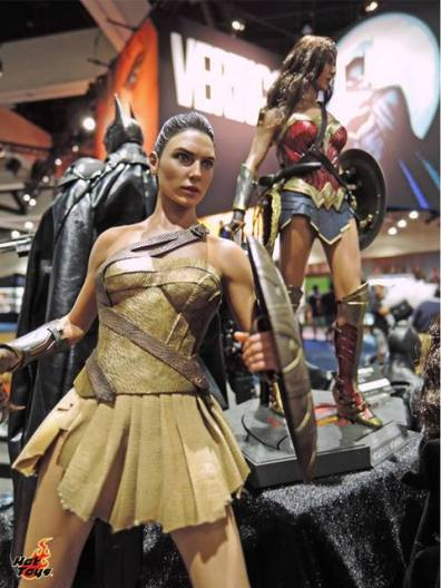 SDCC 2017 new Hot Toys training Wonder Woman
