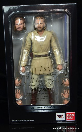 SH Figuarts Star Wars Obi-Wan Kenobi figure review - package front