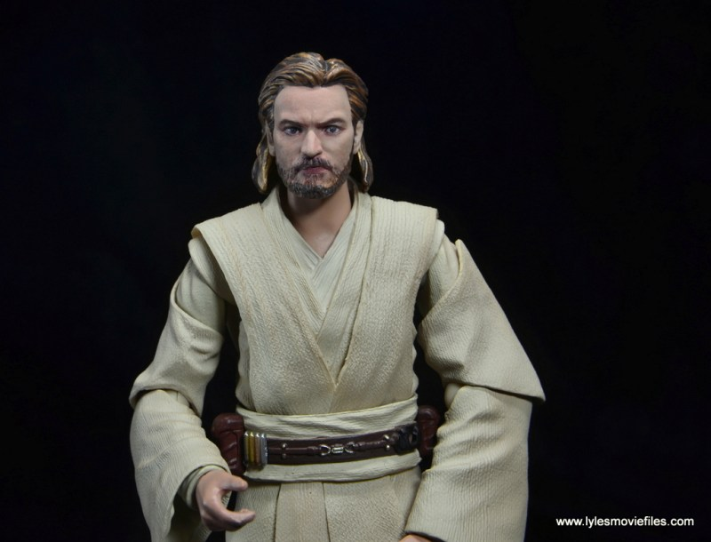 SHFiguarts Star Wars Obi-Wan Kenobi figure review -stern face