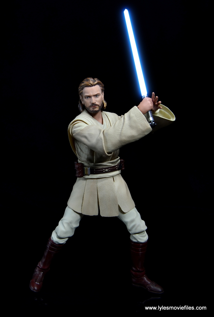 SHFiguarts Star Wars Obi-Wan Kenobi figure review -time for lightsaber action saber