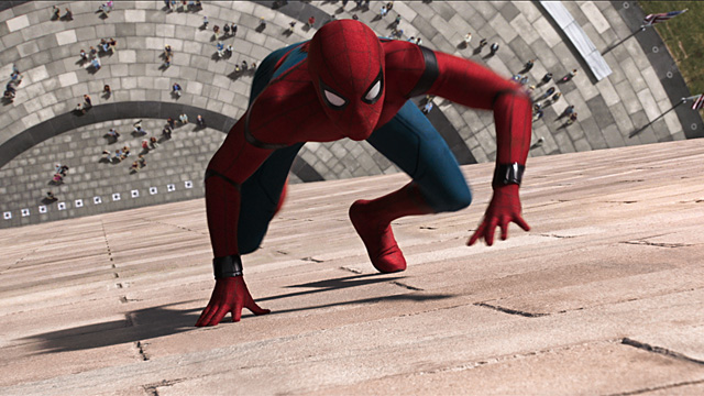 Spider-Man Homecoming - Spider-Man wall crawling $117M debut