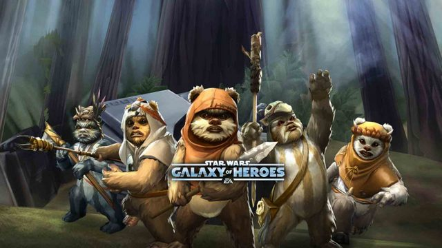 Star Wars Galaxy of Heroes Ewoks