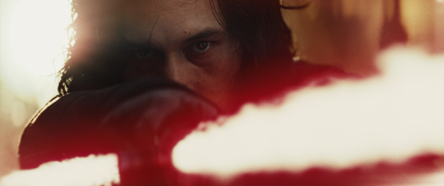 Star Wars behind the scenes Last Jedi Kylo Ren