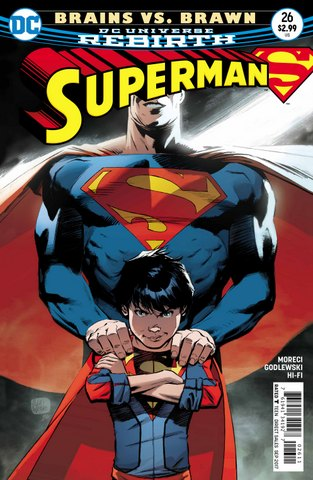 Superman #26 cover