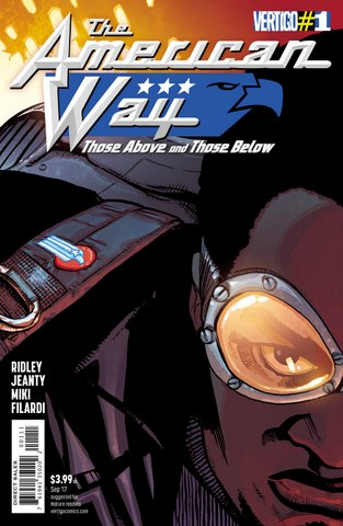 The American Way Those Above and Those Below #1 cover