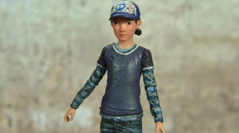The Walking Dead Telltale Games Clementine figure review -main pic