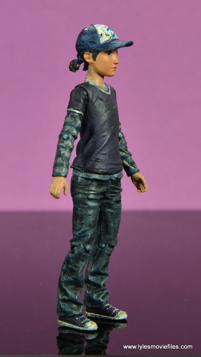 The Walking Dead Telltale Games Clementine figure review -right side