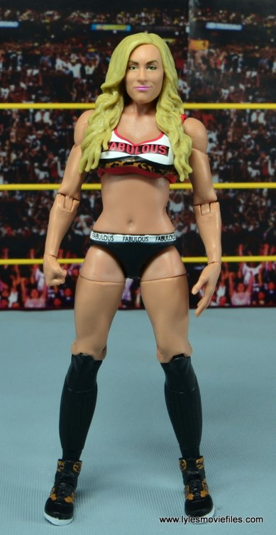 WWE Carmella figure review - front