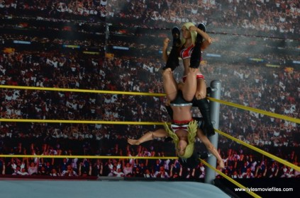 WWE Carmella figure review - huricarana to Alexa Bliss