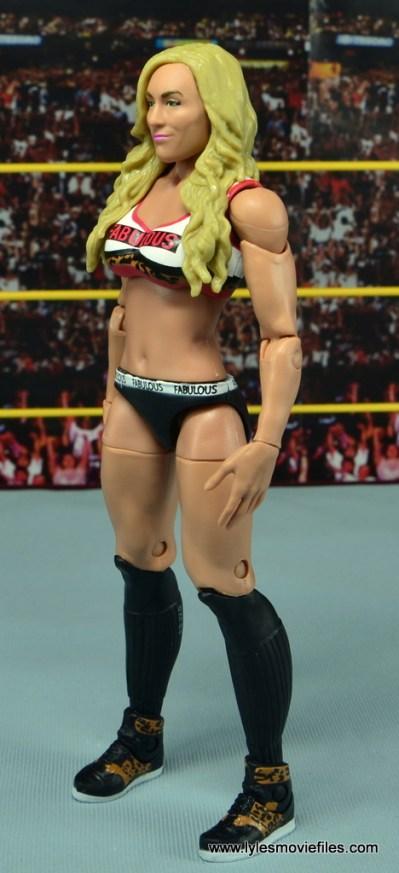 WWE Carmella figure review - left side