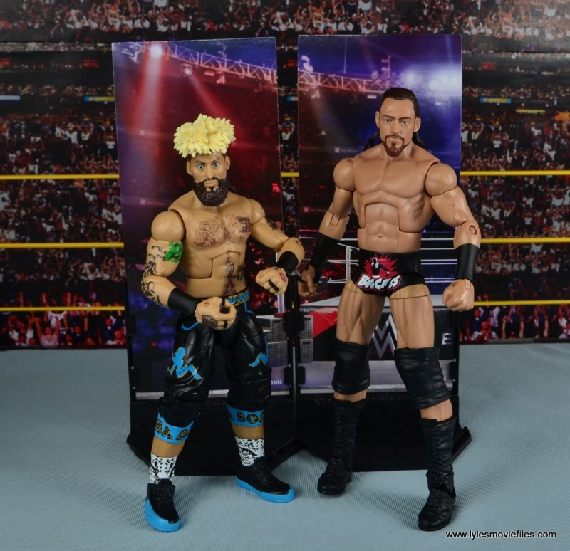 WWE Elite Big Cass and Enzo figure review - by stands