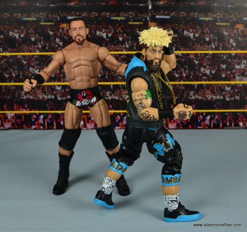 WWE Elite Big Cass and Enzo figure review -chilling in the ring