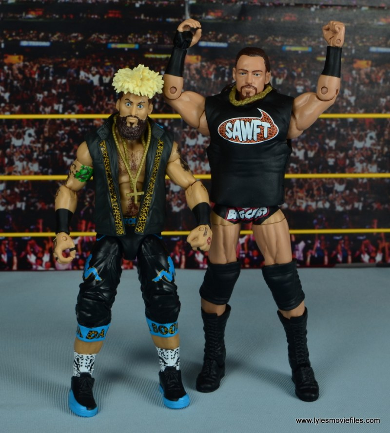 WWE Elite Big Cass and Enzo figure review - tag team forever