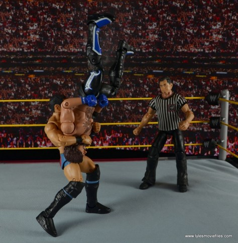 WWE NXT TakeOver Austin Aries figure review -brainbuster to AJ Styles