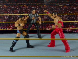 WWE NXT TakeOver Austin Aries figure review -face off with Shinsuke Nakamura