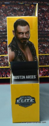 WWE NXT TakeOver Austin Aries figure review - package side