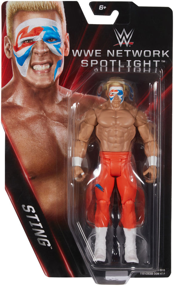 WWE Network Spotlight Surfer Sting figure