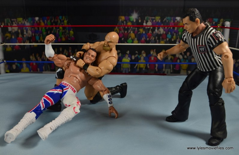 WWE The Warlord figure review -chinlock to British Bulldog