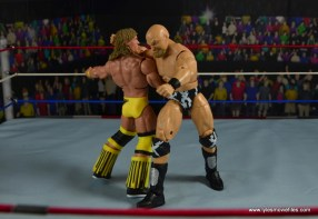 WWE The Warlord figure review -clothesline Texas Tornado
