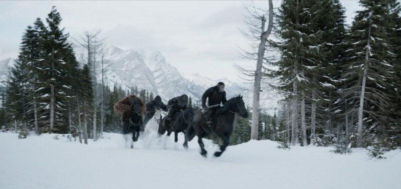 War for the Planet of the Apes review -apes on horseback