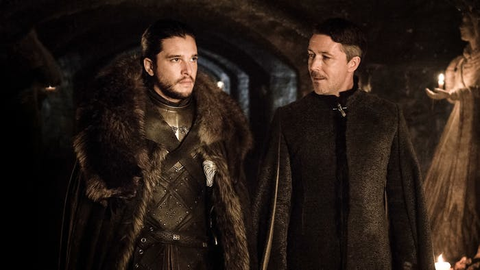 game of thrones stormborn jon-snow-and-petyr-baelish