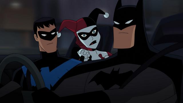 Batman and Harley Quinn review - Nightwing, Harley Quinn and Batman