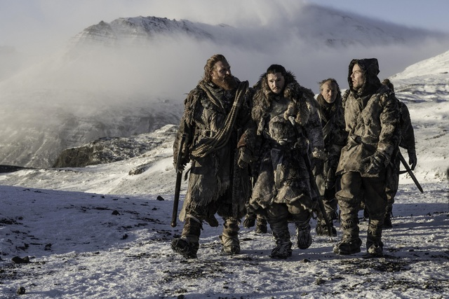 Game of Thrones-Beyond-the wall Jon-Tormund-Gendry-Jorah-Thoros