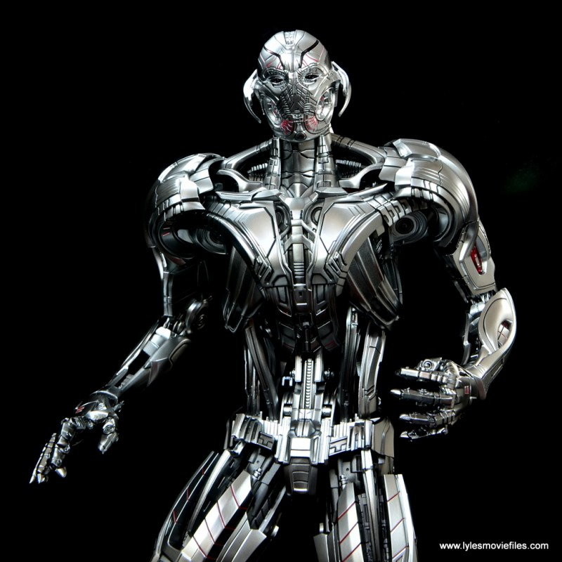Hot Toys Avengers Ultron Prime figure review -detail