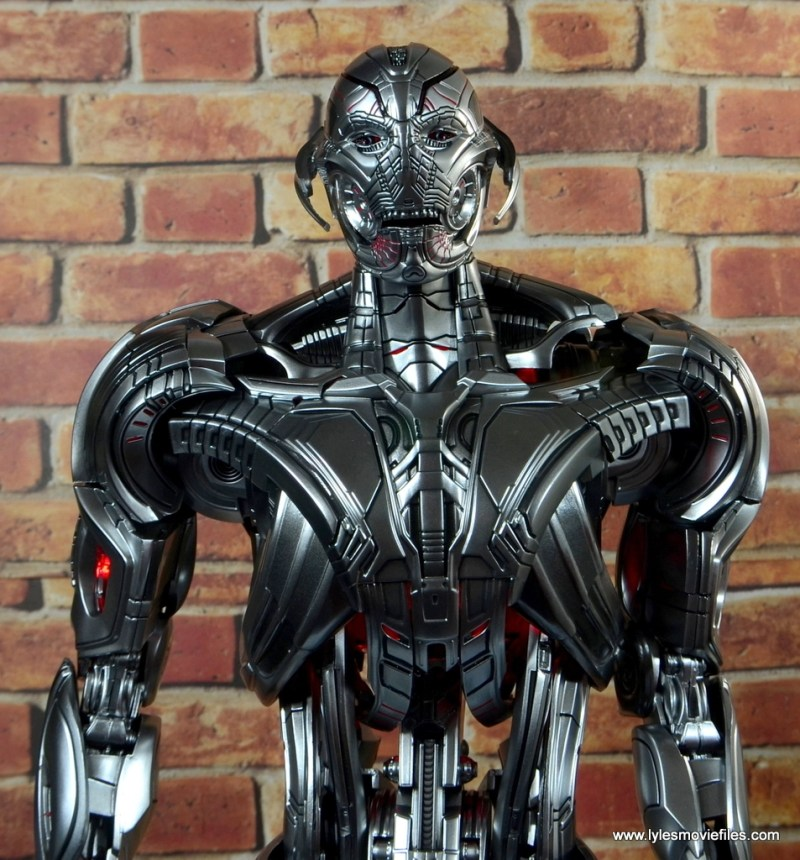Hot Toys Avengers Ultron Prime figure review -open mouth detail